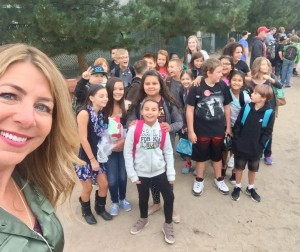 first day selfie fifth grade2